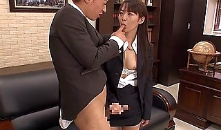 Sultry Japanese grumble Hikaru Ayuhara give Hottest JAV blear